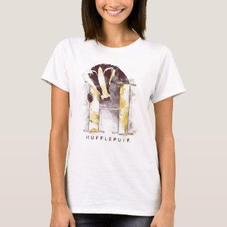 Camiseta Aguarela do texugo de Harry Potter   HUFFLEPUFF™