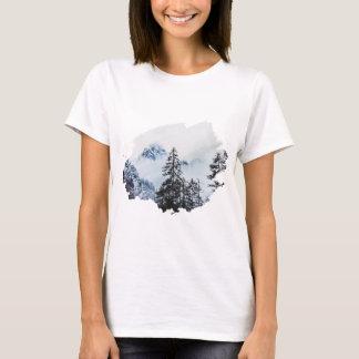 Camiseta Aguarela máxima enevoada