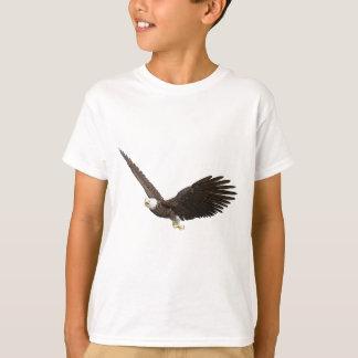 Camiseta Águia americana crescente
