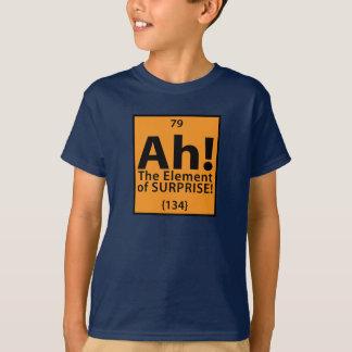 Camiseta Ah! O elemento de surpresa