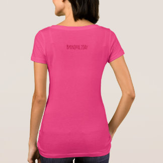 Camiseta Ahimsa:  Seja amável, compassivo & não violento