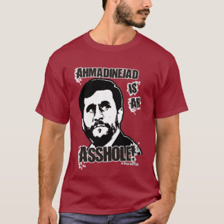 Camiseta Ahmadinejad é COXO!