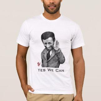 Camiseta Ahmadinejad sim nós podemos