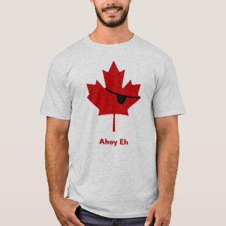 Camiseta Ahoy Eh…  Pirata canadense?