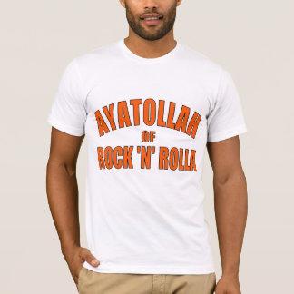 """Camiseta Aiatola da rocha """"N"""" Rolla"""