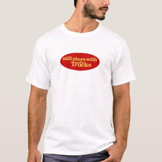 Camiseta Ainda jogos com caminhões