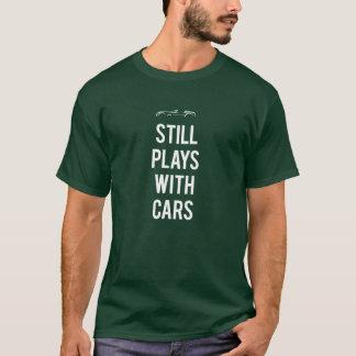 Camiseta Ainda jogos com carros