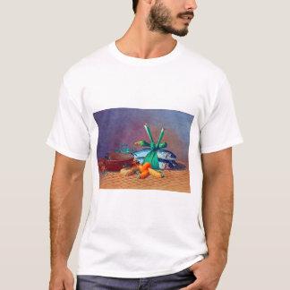 Camiseta Ainda vida com leus, Calabash e Moi de Ilima