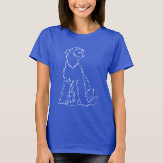 Camiseta Airedale, Galês ou felicidade de Lakeland Terrier
