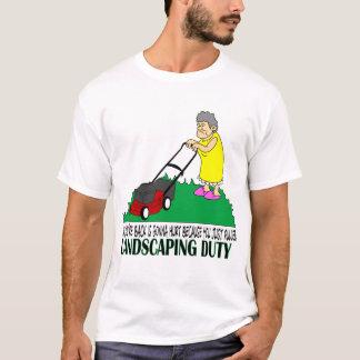Camiseta Ajardinando o dever