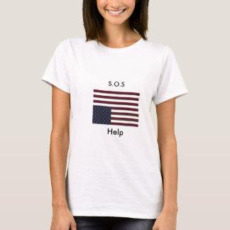 Camiseta Ajuda de S.O.S