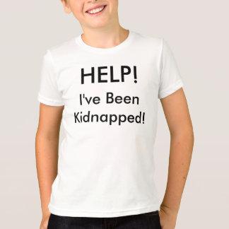 Camiseta AJUDA! Eu fui sequestrado!