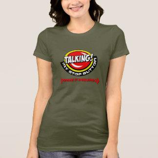 Camiseta ajuda… que eu estou falando e eu não posso fechar