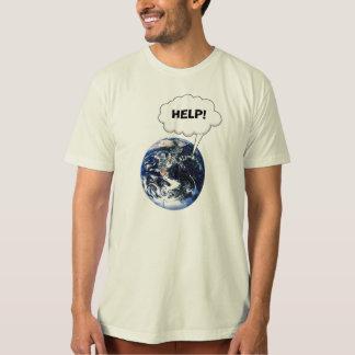 Camiseta Ajuda! Salvar nosso planeta