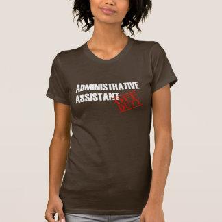 Camiseta Ajudante administrativo fora de serviço