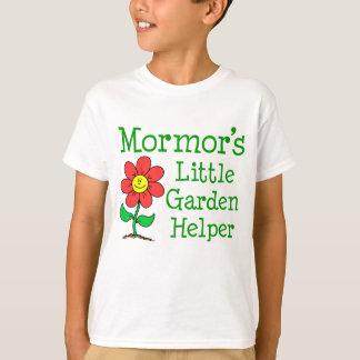 Camiseta Ajudante do jardim de Mormor pouco