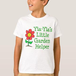 Camiseta Ajudante do jardim de Yia-Yia pouco