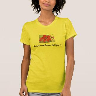 Camiseta Ajudas da acupunctura!
