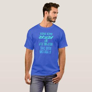 Camiseta Ajude-me a lançar para trás meu RZR sobre
