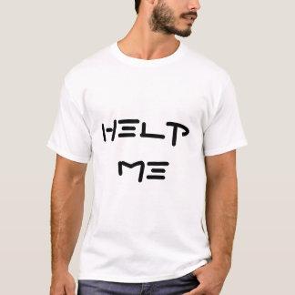 """Camiseta """"Ajude-me que eu sou cercado t-shirt pelos idiota"""""""