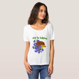 Camiseta Ajude os ouriços