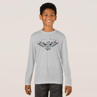 Camiseta Ajustado do dri do menino