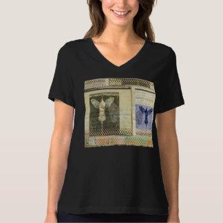 Camiseta Ajustado relaxado Bella da Asa-Aviação 8, t-shirt