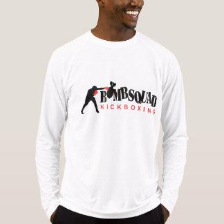 Camiseta Ajustado seco T da luva longa