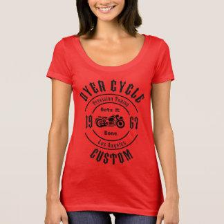 Camiseta Ajustamento da precisão do ciclo do tintureiro