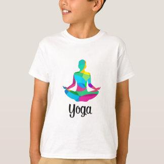 Camiseta Ajuste e malhação da ioga