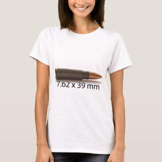Camiseta AK47 munição de 7,62 x de 39mm redonda