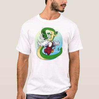 Camiseta Akita & dragão