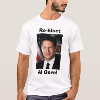 Camiseta Al Gore, Re-Elect, Al Gore!