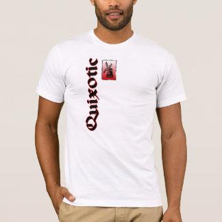 Camiseta Alá quixotesco Don Quijote do moinho de vento