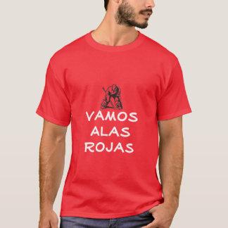 Camiseta Alá Rojas de Detroit Vamaos