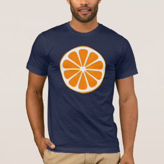 Camiseta alaranjado. híbrido