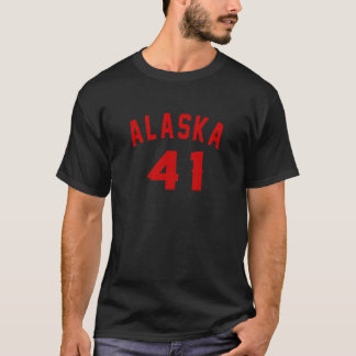 Camiseta Alaska 41 designs do aniversário