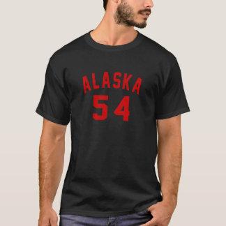 Camiseta Alaska 54 designs do aniversário