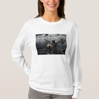 Camiseta Alaska adornou papagaio-do-mar