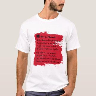 Camiseta Albânia - Himni mim Flamurit