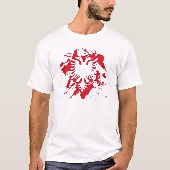 Camiseta albanian flag