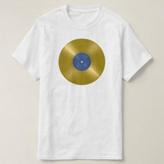 Camiseta Álbum gravado do ouro
