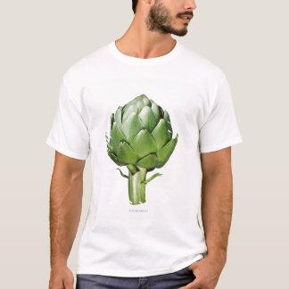 Camiseta Alcachofra no fundo branco cortado