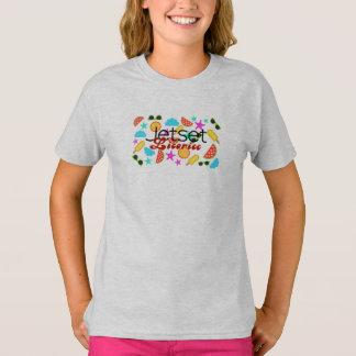 Camiseta Alcaçuz de Jetset > Tshirt das meninas - ícones do