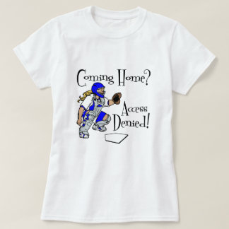 Camiseta Alcance negado, azul