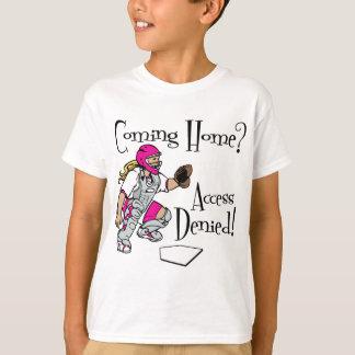 Camiseta Alcance negado, cor-de-rosa