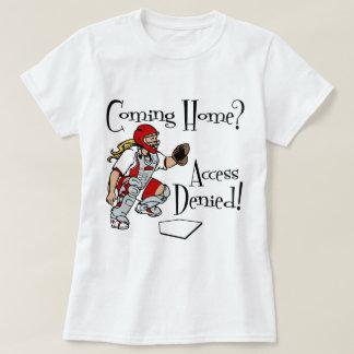 Camiseta Alcance negado, vermelho