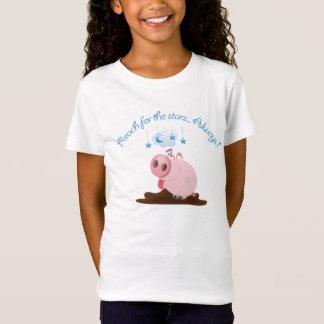 Camiseta Alcance para as estrelas leitães