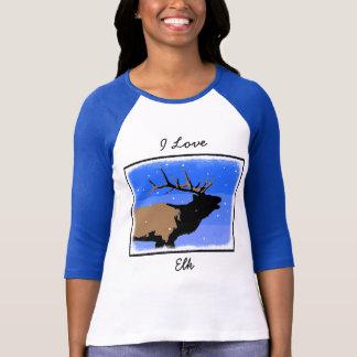 Camiseta Alces de Bugling no inverno