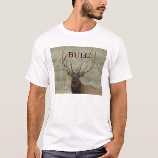 Camiseta Alces de E0010 Bull no veludo